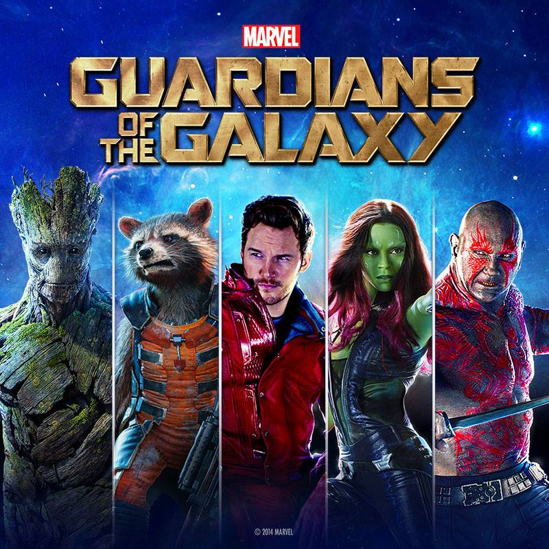 Photo from Guardians of the Galaxy Facebook